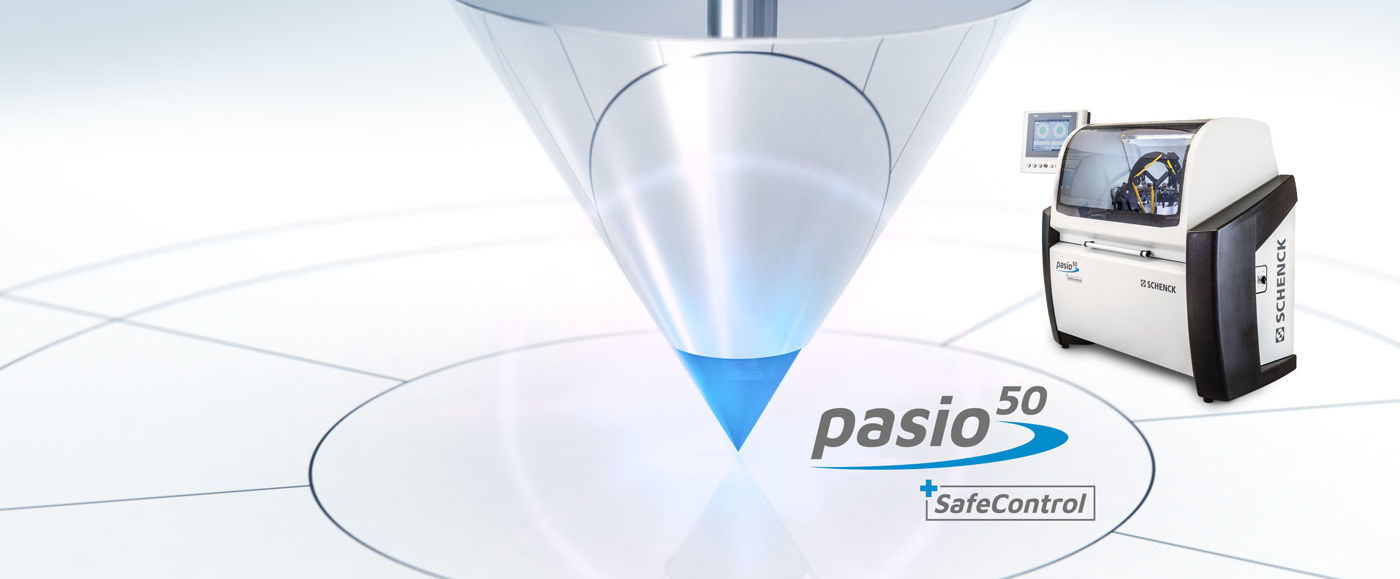 The new Pasio 50: Smart. Safe. Precise.